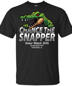 Chance The Snapper Gator Watch Humboldt Park Chicago Youth Kids T-Shirt