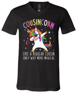 Cousins Like A Regular Cousin Only Way More Magical V-Neck T-Shirt