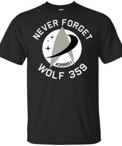 Never Forget Wolf 359 T-Shirt