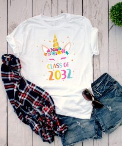 Class Of 2032 T-shirt Grow With Me First Day Of School Shirt