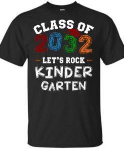Class of 2032 Kindergarten T-Shirt