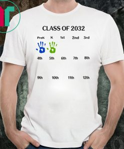 Class of 2032 grow with me Tee Shirt