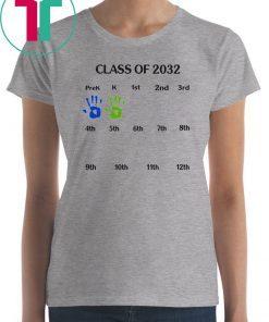 Class of 2032 grow with me Tee Shirt