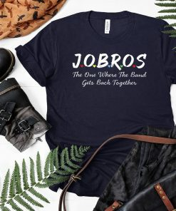 Jobros The One Where The Band Get Back Together Friends Themed TV Show Unisex T-Shirt