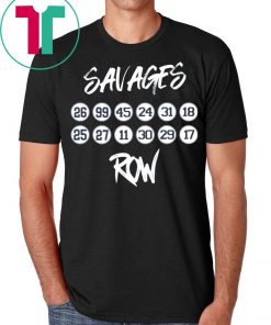 New York Yankees Savages Row T-Shirt