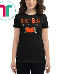 Cleveland Browns T-Shirt Shotgun Formation T-Shirt