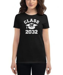 Vintage Kindergarten 2019 Class Of 2032 Apparel Grow With Me T-Shirt