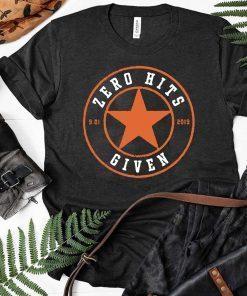 Zero Hits Given T-Shirt