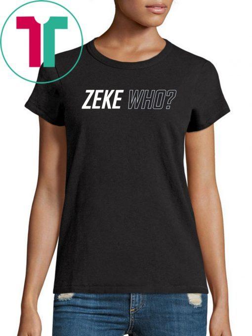 Zeke Who Classic Tee Shirt