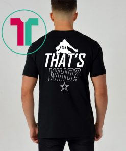 ZEKE WHO – THAT'S WHO SHIRT Zeke Who Ezekiel Elliott – Dallas Cowboys Shirts