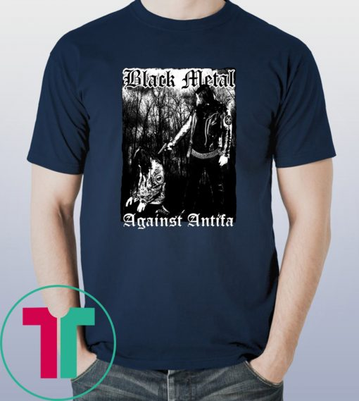 'Black Metal Against Antifa' Behemoth's Nergal Reveals 2019 Tee Shirt