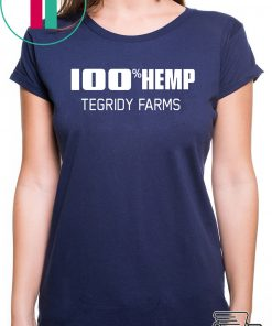 100% Hemp Tegridy Farms Parody T-Shirt