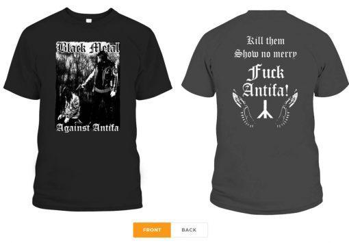 Behemoth's Nergal Reveals 'Black Metal Against Antifa' Unisex T-Shirts