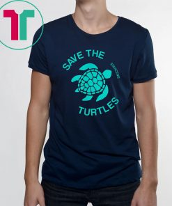 Save the Turtle Vsco, Sea Ocean Beach Lover Gift Aesthetic T-Shirt
