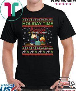 Adventure Time Christmas T-Shirt