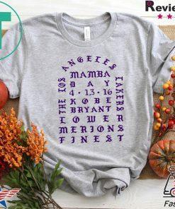 I Feel Like Kobe Bryant Mamba T-Shirt