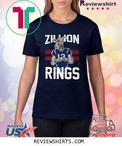 ZILLION RINGS T-SHIRT